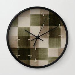 random pattern Wall Clock