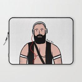 Beard Boy: DJ Carranco Laptop Sleeve