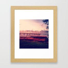 Nightcliff Jetty Framed Art Print