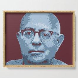 Theodor W. Adorno Serving Tray
