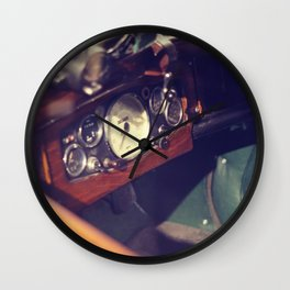 Classic Car Dashboard Wall Clock