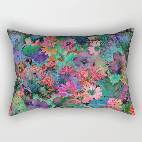 A Small Piece of Grandma's Garden Rectangular Pillow