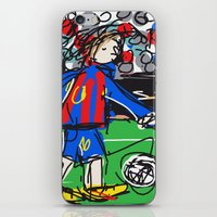 messi iPhone & iPod Skins featuring Messi by Rimadi
