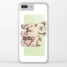 Camembear Clear iPhone Case