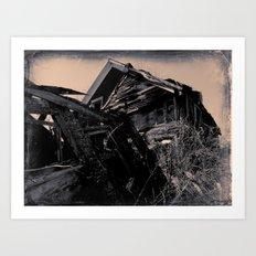 La grange Art Print