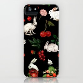 Sweet Bunnies iPhone Case