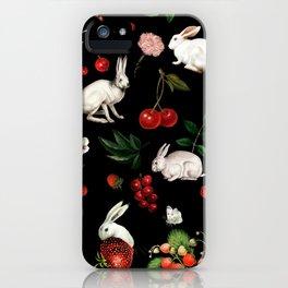 Sweet Bunnies iPhone Case