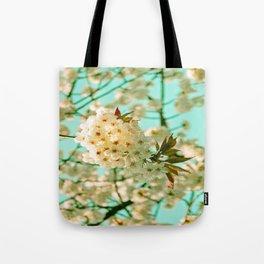 White Spring Love Tote Bag