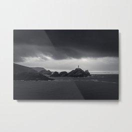 The Last Lighthouse Metal Print