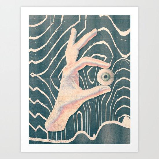 """Lost & Found """"Hand"""" Art Print"""