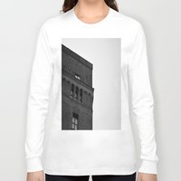 brooklyn Long Sleeve T-shirts featuring Brooklyn by Gold Street Photography