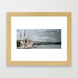 Ortakoy Mosque ISTANBUL Framed Art Print