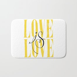 Love is Love Bath Mat