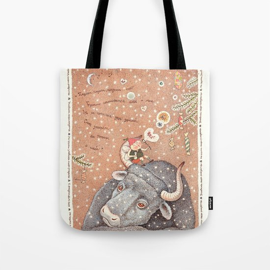 The year of OX  Tote Bag