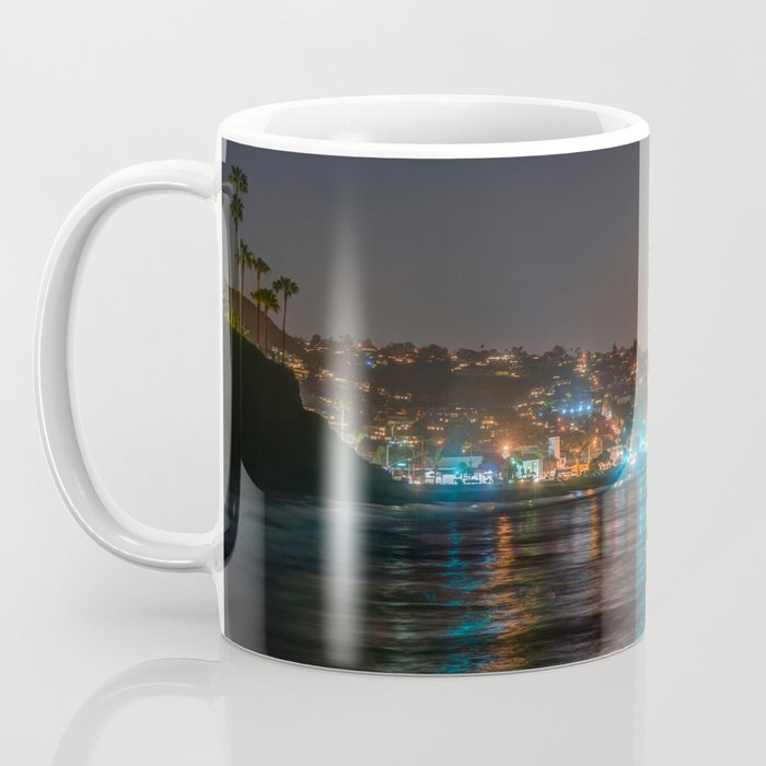 Moon Over Main Beach Coffee Mug