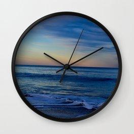 Blue Beach Paradise Waves Wall Clock