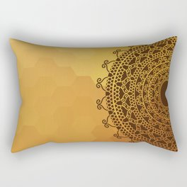 Ethnic Mandala Rectangular Pillow