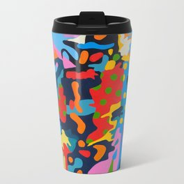 Deconstructed Spaghetti Western Metal Travel Mug