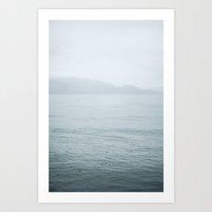 Lake Okanagan  Art Print