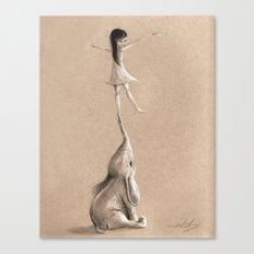 You Lift Me Up Canvas Print