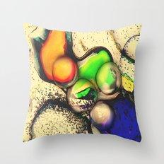 Alien Commodity Throw Pillow
