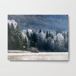 Lac Blanc Metal Print