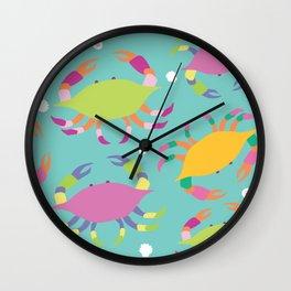 Crabs Wall Clock
