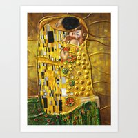 klimt Art Prints featuring My Klimt by Müge Başak