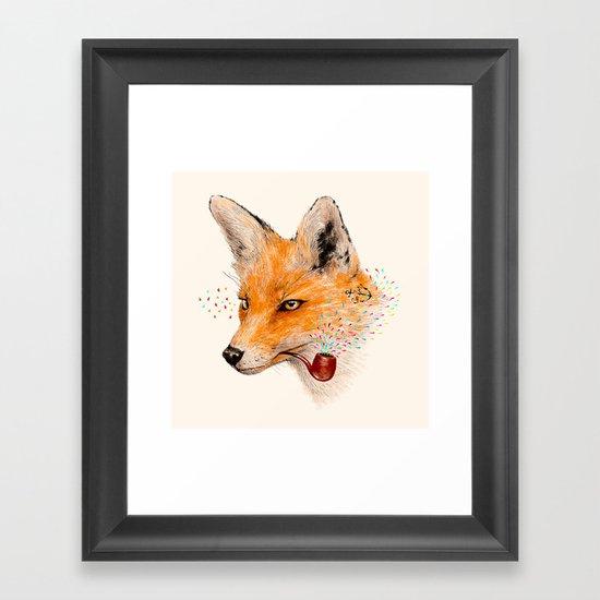Fox VI Framed Art Print