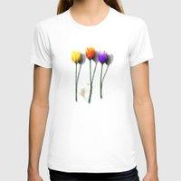tulip T-shirts featuring Tulip by Det Tidkun