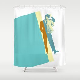 Frank Steps Out Shower Curtain