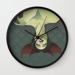 SLEEPING BANSHEE Wall Clock