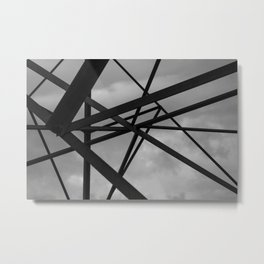 Staccato Metal Print