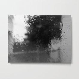 I LOVE THE RAIN Metal Print