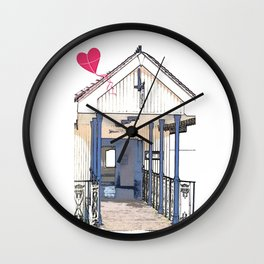 Victorian Cliff Lift Southend Wall Clock