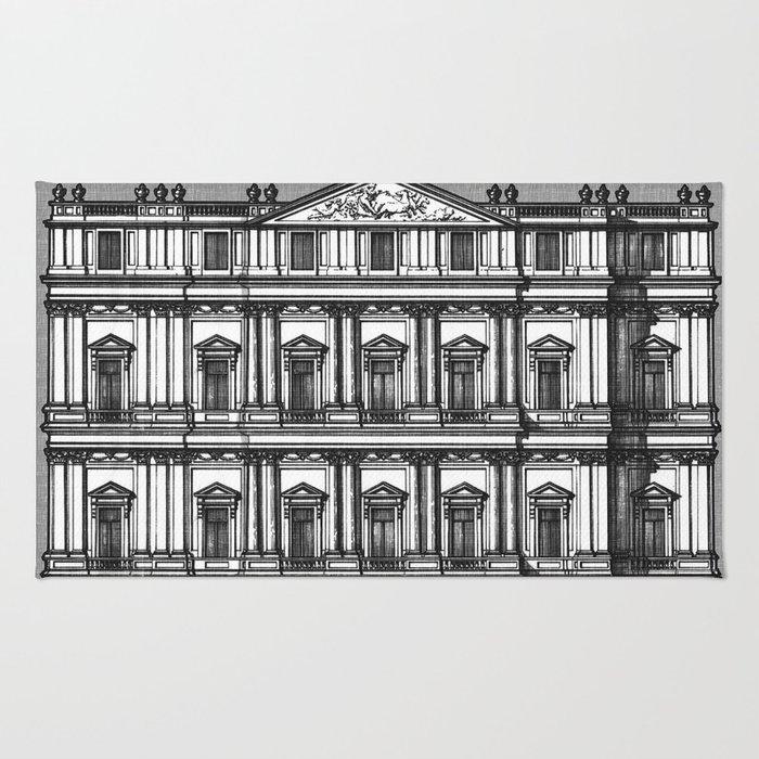 Windows and Columns Rug