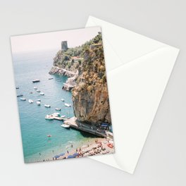 Beach between Amalfi and Positano | Southern Italy Travel | Mediterrenean Coast Photography Stationery Cards