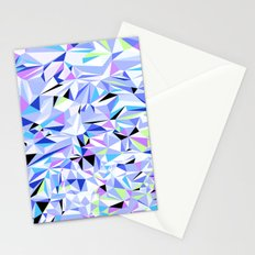 Periwinkle Polygons Stationery Cards