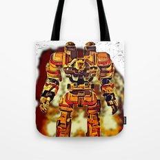 Robot Jox Tote Bag