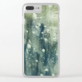 Abstract Water Clear iPhone Case