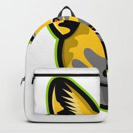 African Wild Dog Mascot Backpack
