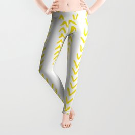 Yellow Arrows Leggings