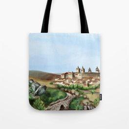 Viseu landscape Tote Bag