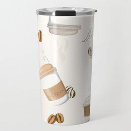 wake up and smell the coffee Travel Mug