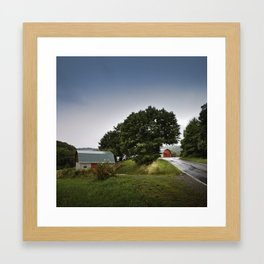 north carolina barnyards Framed Art Print