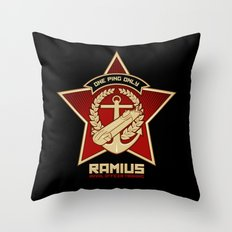 One Ping Only Throw Pillow