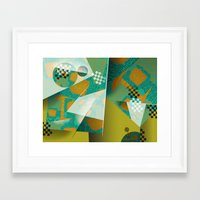planes Framed Art Prints featuring Planes by DARWIN STEAD