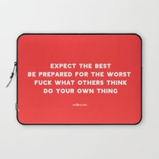 YOUR OWN THING Laptop Sleeve