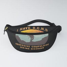 funny hiker gift for road trip fans Fanny Pack