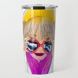 Going to California (With Love in Her Eyes) Travel Mug